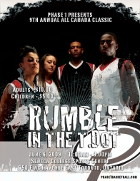 2009 All Canada Classic-Rumble in the T-Dot; Oditte Odishu, Kendra Seto, Maurice Walker, Alwayne Bigby