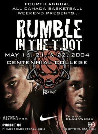 2004 All Canada Basketball Weekend-Rumble in the T-Dot; Jevohn Shepherd, Tristan Blackwood