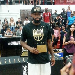 Dwayne Smith, Nike Crown League MVP - 2015