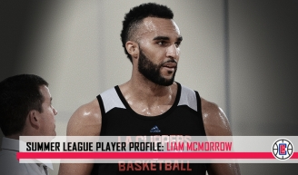 Liam McMorrow, Durham College, Marquette U., Tennessee Tech U., NBA Summer League