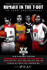 2010 All Canada Classic-Rumble in the T-Dot; Natalie Achonwa, Julian Clarke, Emerson Murray, Wumi Agunbiade